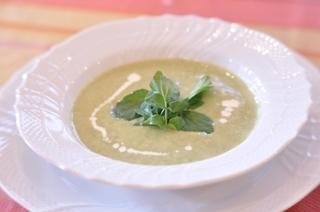 ブロッコリーとクレソンのスープスープ.JPG